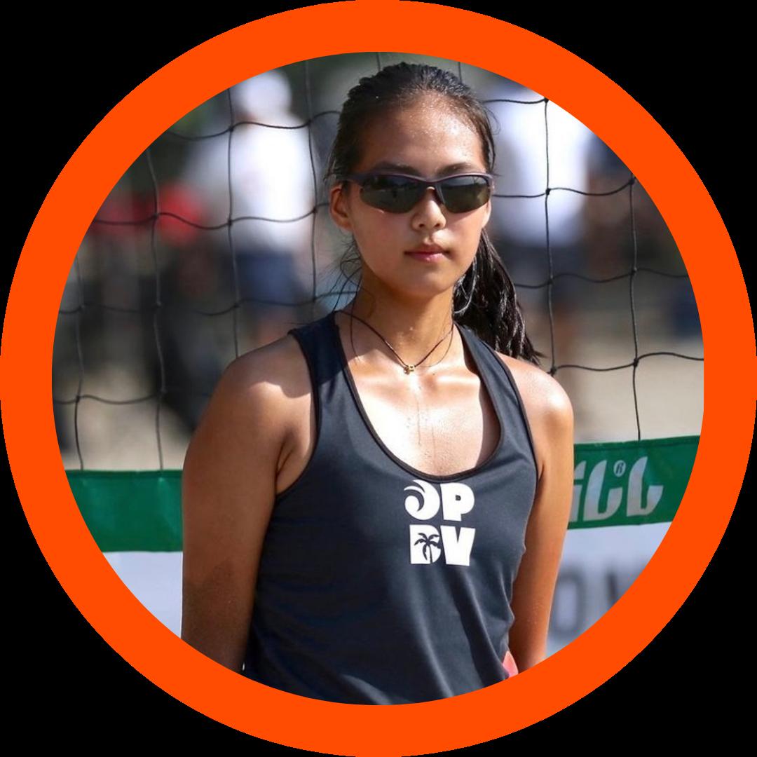 Margaret Yan | Women's Beach Volleyball | Class of 2024 | Blocker